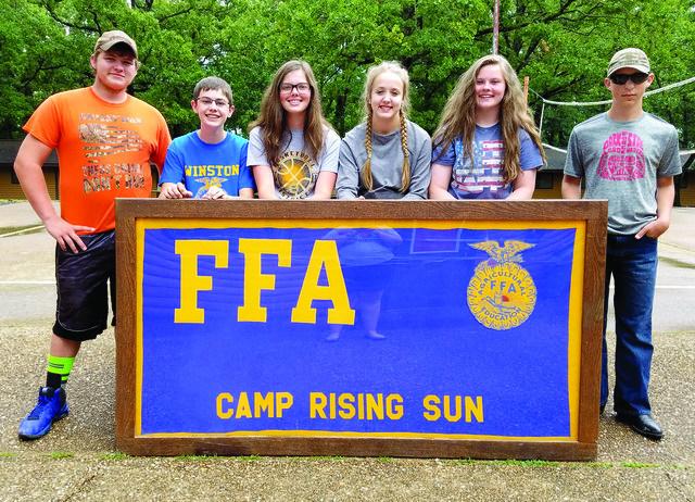 FFA camp and leadership training school