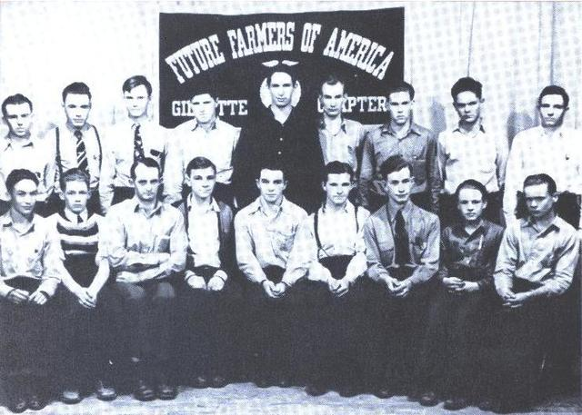 FFA members served in the armed services