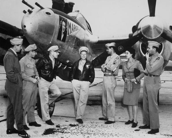 FFA Members helping during World War II.