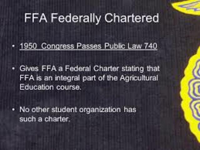 FFA a federal charter