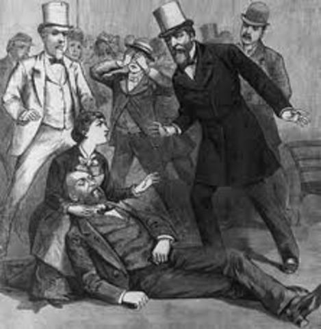 President Garfield assassinated