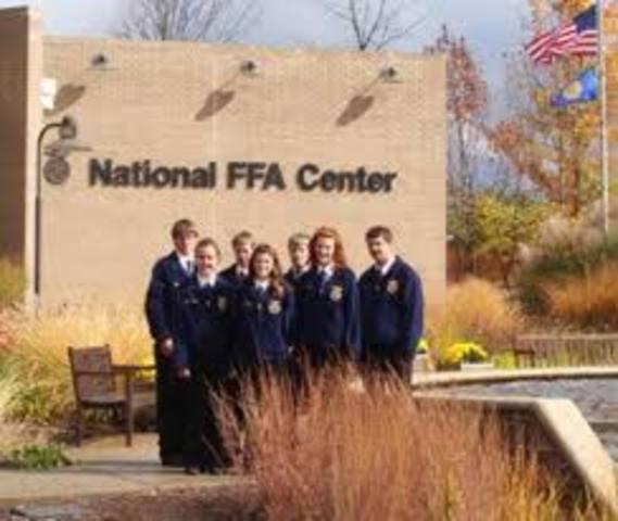 First National FFA Center dedicated in Alexandria, Va.