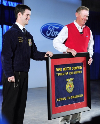 72nd National FFA Convention held in Louisville, Ky., for the first time.