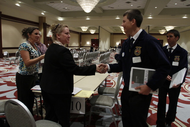 First FFA National Agricultural Career Show