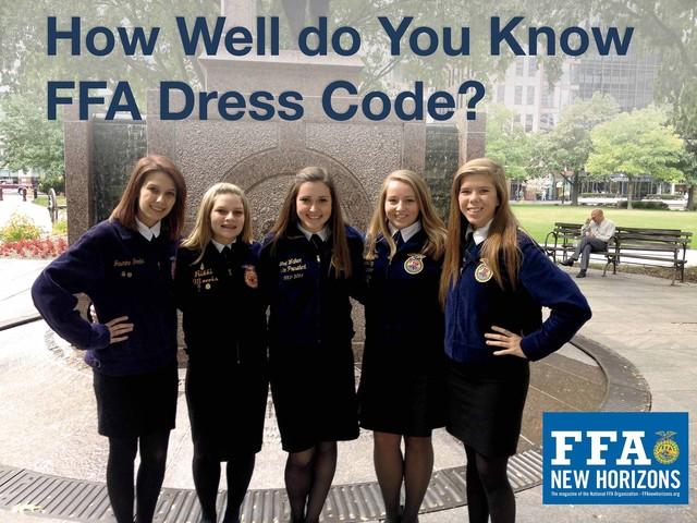 FFA Official Dress Standards