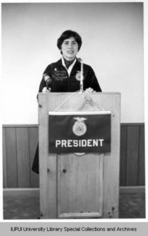 First Female Elected To A National Office