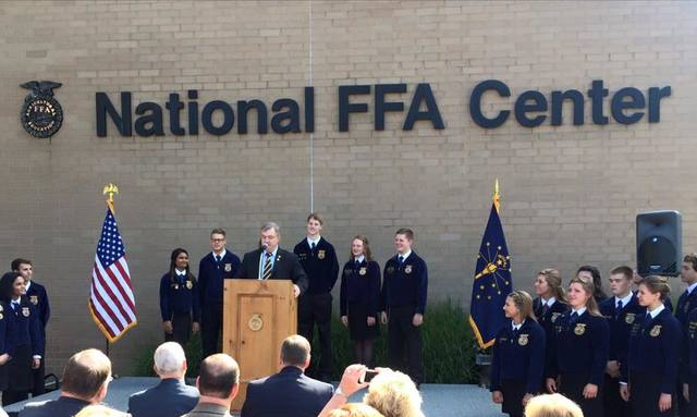 National FFA Center in Indianapolis Dedicated.