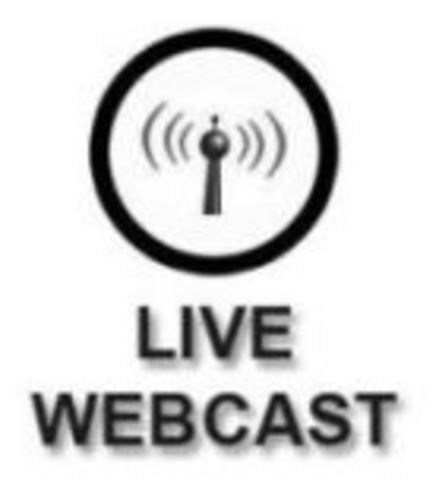 First Live Webcast