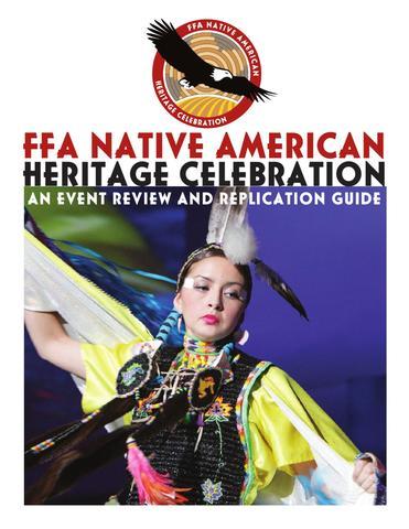 FFA Celebrated Native Americans in FFA