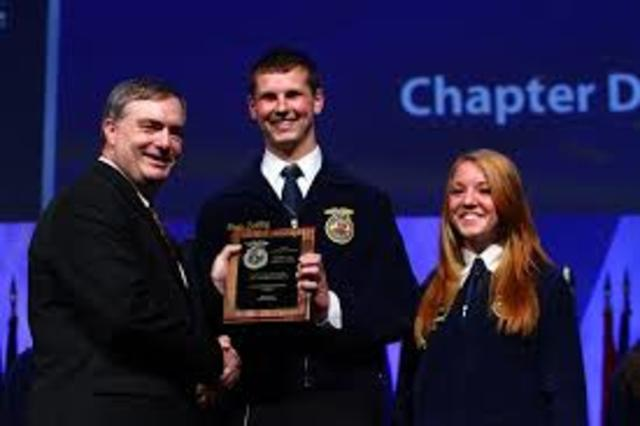 1st national FFA agriculture proficiency