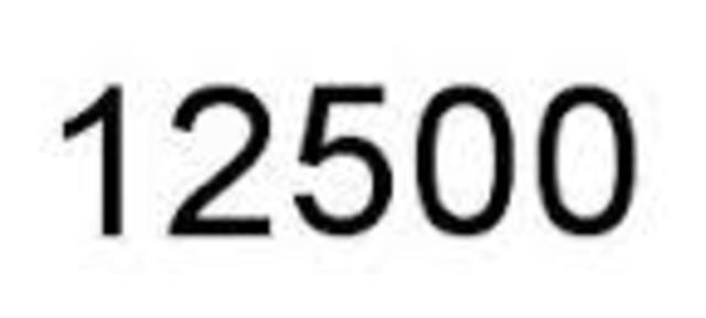 12,500