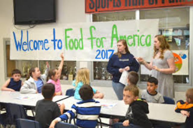 Food For America program launched