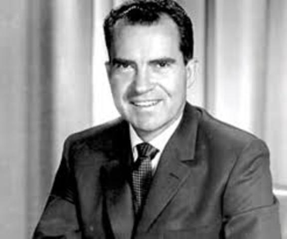 President Richard Nixon attends national FFA convention in Kansas City