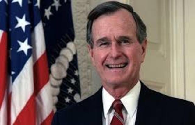 George H.W. Bush speaks at national convention