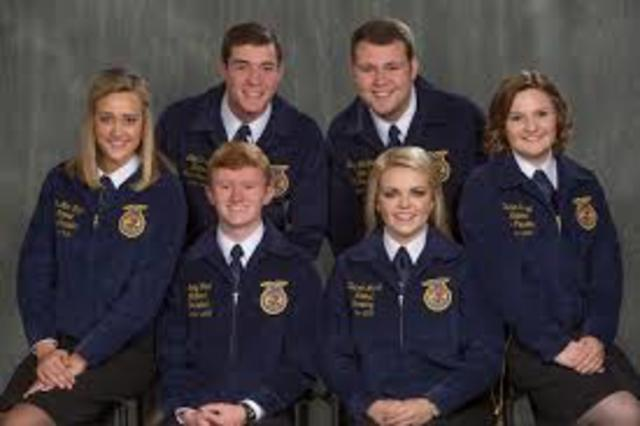 Delegates at the national FFA convention