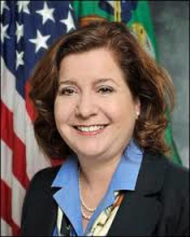 first female national FFA president.