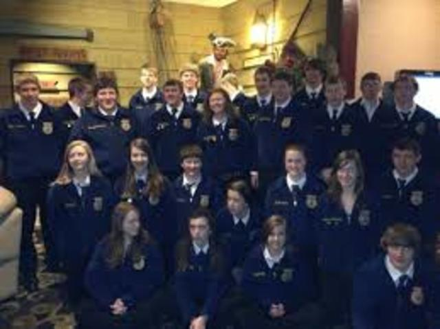 FFA convention approved the Discovery FFA Degree
