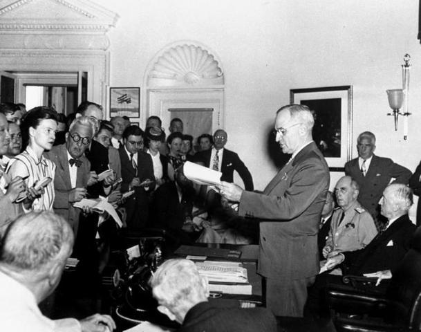 Former President Harry S. Truman