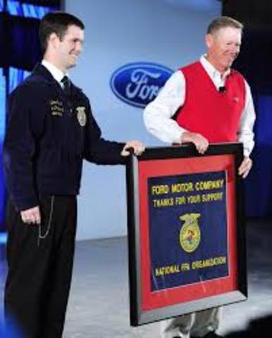 National FFA launched Seeds of Hope,