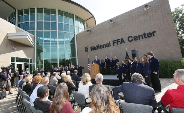 FFA Convention and Center Moved