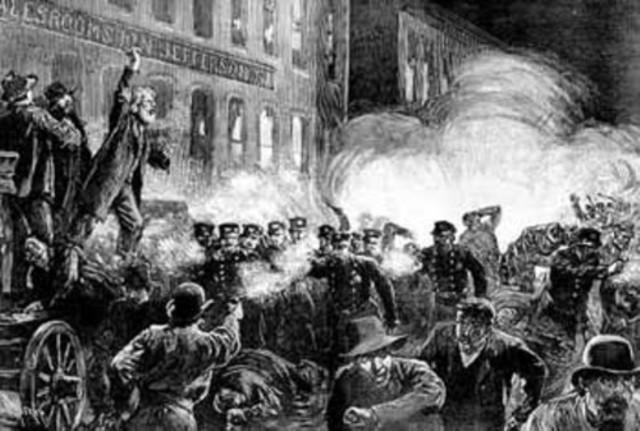 Haymarket Square Incident
