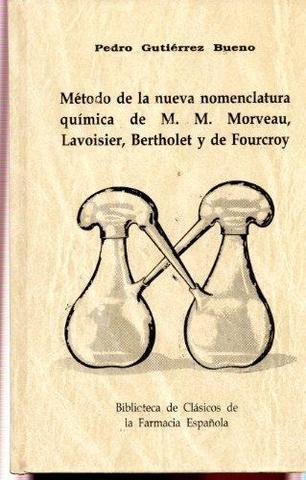 Método de nomenclatura química de Lavoisier y Morveau