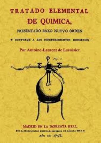 Tratado de química de Lavoisier