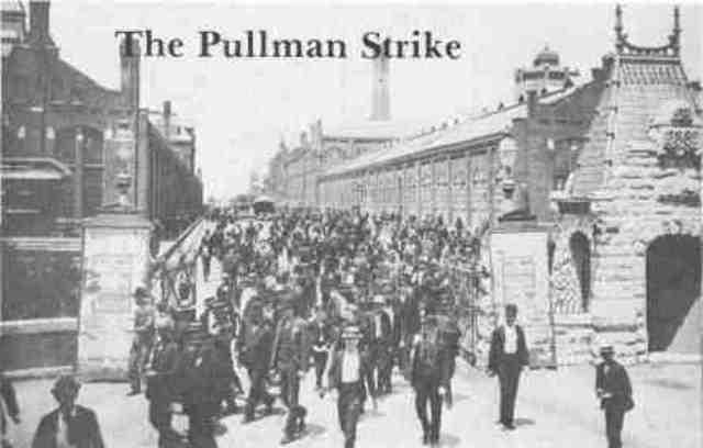 Pullman RR Strike