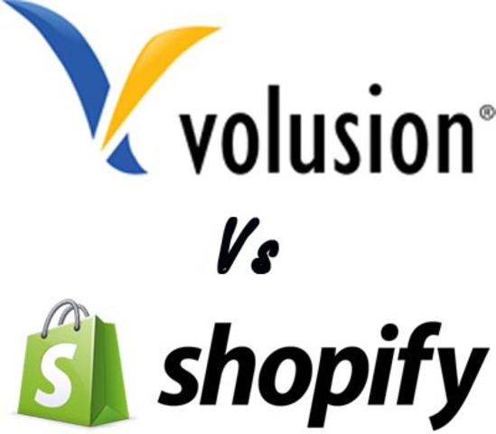 Volusion y Shopify.