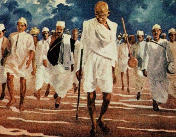 The Salt March