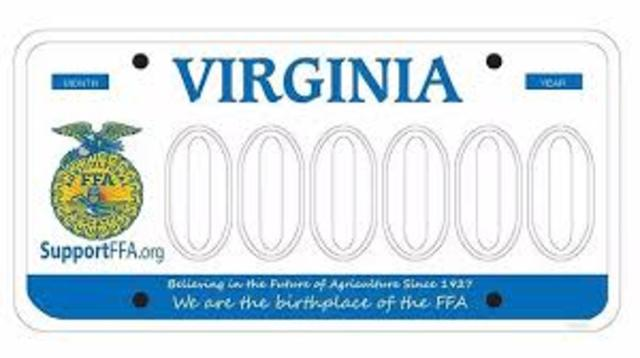 New farmers of virginia first constitution and bylaws