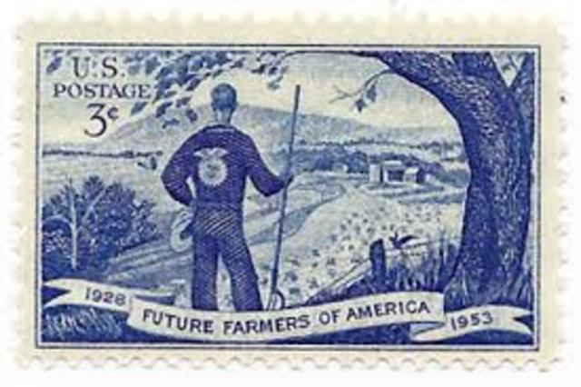 Special Stamp To Celebrate The 25th Anniversary of the FFA