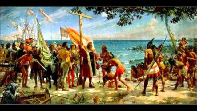 ETAPA PRECORTESIANA 1492, Las tierras descubiertas por Cristóbal Colón