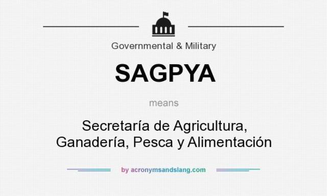 Secretaria de Agricultura, Ganadería, Pesca y Alimentación (SAGPyA)