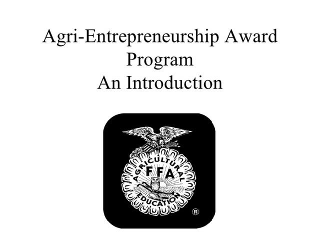 Award Beginning