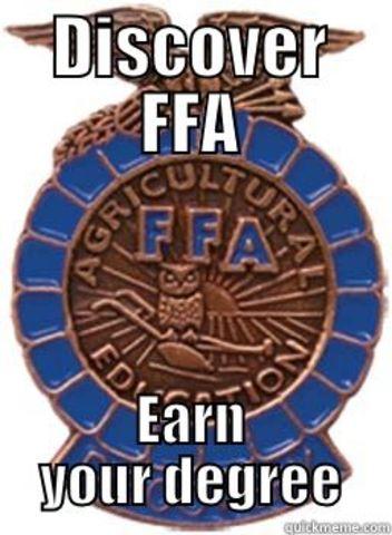 Discovery FFA degree