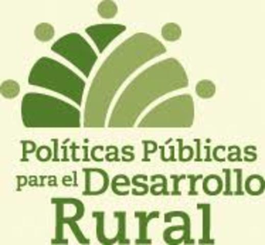 Políticas de desarrollo rural