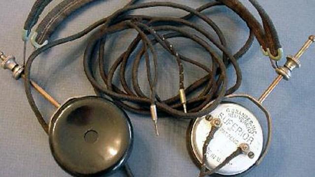 Headphones are invented
