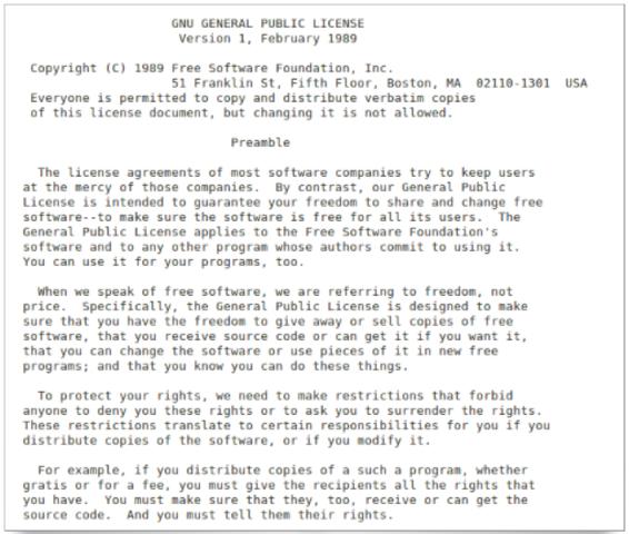Linux licenciado bajo GNU GPL