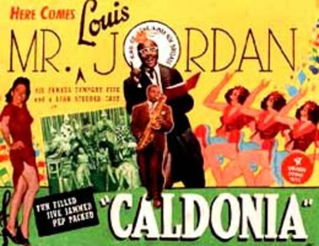 "Jordan records ""Caldonia"""