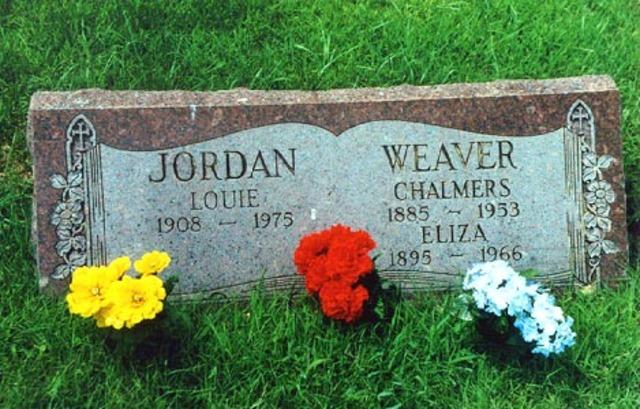 Louis Jordan dies in Los Angeles
