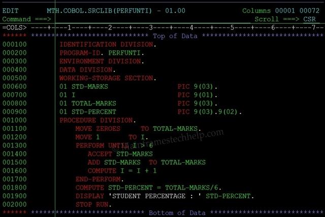 COBOL (COmmon Business Oriented Language)