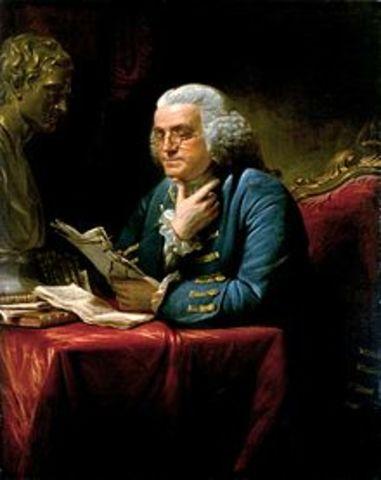 Benjamín Franklin y su descubrimiento