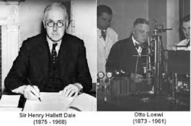 Henry Hallet Dale (1875-1968) y Otto Loewi (1873-1961)