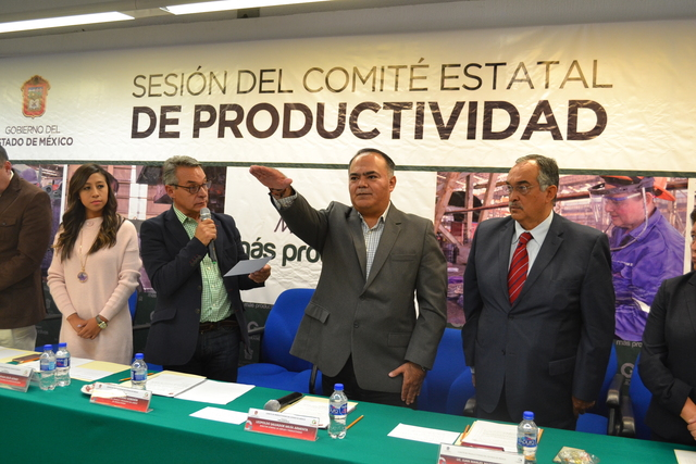 Se constituye el Comité Estatal de Calidad y Productividad del Gobierno del estado de México