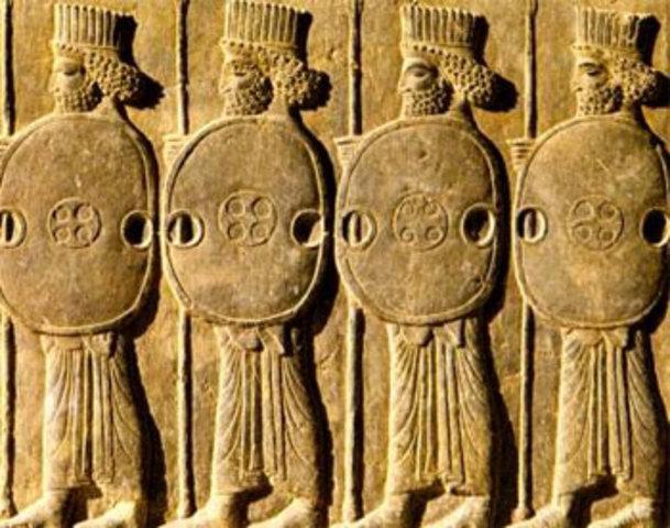 Persas crean el primer servicio postal