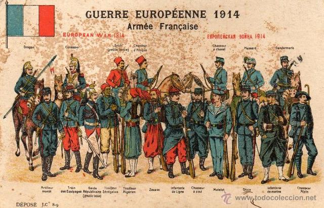La guerra europea de 1914.