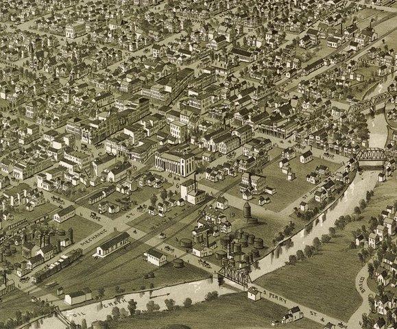 Nacimiento de la industria petrolera, Titusville, Pensilvania