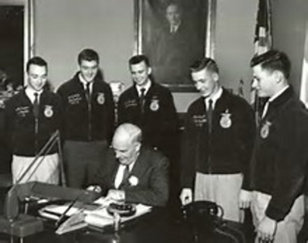 On Aug. 30, President Harry S. Truman signed the bill, and it became Public Law 81-740.