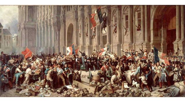 El fracaso de las revoluciones democráticas en Europa desencadena un aumento de la inmigración a los Estados Unidos.